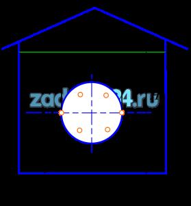 Для хранения бензина в гараже, служит резервуар (рис.6). Высота столба бензина Н=5 м. Плотность бензина ρ=725 кг/м³. Для возможности осмотра резервуара в процессе его эксплуатации имеется лаз, который закрывается крышкой. Диаметр лаза D=0,8 м. Расстояние от его центра тяжести до дна h=0,9 м. Крышка прикрепляется болтами, количество болтов . Определить диаметр болтов, прикрепляющих крышку лаза, если допускаемое напряжение на разрыв для болтов а=15 МПа.