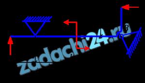 Определить реакции в опорах А и В балки (рис.3.1). Опора  шарнирно-неподвижная. Исходные данные приведены в табл. 3.1.