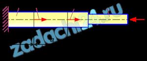"""Для консольного бруса переменного сечения (рис.3.1) построить эпюры нормальной силы, нормальных напряжений и продольных перемещений. Определить из условия прочности допустимое значение нагрузки F и при найденном значении нагрузки вычислить наибольшее перемещение бруса, а также максимальное удлинение участка a.  Принять А=200 мм², l=200 мм, s=2, остальные данные взять из табл.3.1 и табл.3.2.  Таблица 3.1 - Исходные данные  <table id=""""tablepress-3467"""" class=""""tablepress tablepress-id-3467""""> <tbody> <tr class=""""row-1""""> <td class=""""column-1"""">A<sub>1</sub>/A</td><td class=""""column-2"""">b/l</td><td class=""""column-3"""">F<sub>1</sub>/F</td><td class=""""column-4"""">c/l</td><td class=""""column-5"""">F<sub>2</sub>/F</td><td class=""""column-6"""">Материал</td><td class=""""column-7"""">№ схемы</td><td class=""""column-8"""">a/l</td><td class=""""column-9"""">F<sub>3</sub>/F</td> </tr> <tr class=""""row-2""""> <td class=""""column-1"""">1,70</td><td class=""""column-2"""">2,0</td><td class=""""column-3"""">-2</td><td class=""""column-4"""">1,0</td><td class=""""column-5"""">-4</td><td class=""""column-6"""">Магн. спл.<br /> МА - 5</td><td class=""""column-7"""">1</td><td class=""""column-8"""">2,0</td><td class=""""column-9"""">2,0</td> </tr> </tbody> </table>   Таблица 3.2 - Механические характеристики материала  <table id=""""tablepress-3468"""" class=""""tablepress tablepress-id-3468""""> <tbody> <tr class=""""row-1""""> <td colspan=""""7"""" class=""""column-1"""">1 Пластичные материалы</td> </tr> <tr class=""""row-2""""> <td class=""""column-1"""">Материал</td><td class=""""column-2"""">Марка</td><td class=""""column-3"""">σ<sub>т</sub>, МПа</td><td class=""""column-4"""">σ<sub>в</sub>, МПа</td><td class=""""column-5"""">τ<sub>т</sub>, МПа</td><td class=""""column-6"""">Е·10<sup>-5</sup> МПа.</td><td class=""""column-7"""">μ</td> </tr> <tr class=""""row-3""""> <td class=""""column-1"""">Магниевый<br /> сплав</td><td class=""""column-2"""">МА-5</td><td class=""""column-3"""">220</td><td class=""""column-4"""">300</td><td class=""""column-5"""">160</td><td class=""""column-6"""">0,72</td><td class=""""column-7"""">0,27</td> </tr> </tbody> </table>   Дано: схема бруса (рис.3.1) А1=1,7А; b=2l; F1=-2F"""