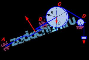 Задача С.7. Определение реакций опор твердого тела Найти реакции конструкции. Схемы конструкций показаны на рис. 44-46. Необходимые для расчета данные приведены в табл. 14.