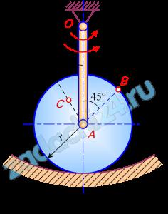 Задание К.3. Кинематический анализ плоского механизма  Найти для заданного положения механизма скорости и ускорения точек В и С, а также угловую скорость и угловое ускорение звена, которому эти точки принадлежат. Схемы механизмов помещены на рис. 73 – 75, а необходимые для расчета данные приведены в табл. 25.