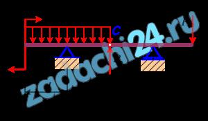 Изгиб  Дана балка, нагруженная, как показано на рисунке 4. Цифровые данные – в таблице 5.  Необходимо  1. Определить реакции опорных устройств.  2. Составить выражения для поперечных сил и изгибающих моментов.  3. Вычислить граничные значения внутренних силовых факторов и их экстремальные значения.  4. Из условия прочности по нормальным напряжениям подобрать двутавр.  5. Определить максимальное значение касательного напряжения в сечении, в котором действует наибольшая поперечная сила.  Графическая часть:  - построить эпюры поперечных сил и изгибающих моментов;  - вычертить в масштабе сечение выбранного двутавра с указанием размеров по ГОСТ 8239-72.