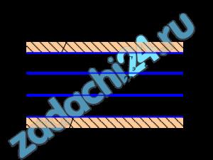 Вычислите значение плотности потока излучения qэк2 Вт/м², между двумя безграничными плоскопараллельными поверхностями, разделенные прозрачной средой, если между ними установлен экран (см. рисунок). Температура первой поверхности t1=227 ⁰С, а температура второй поверхности t2=150 ⁰С. Степень черноты ε1=0,7, ε2=0,4, εэк1=0,4, εэк2=0,3.