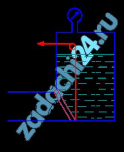 Поворотный клапан закрывает выход из бензохранилища в трубу квадратного сечения. Определить, какую силу Т необходимо приложить к тросу для открытия клапана, если заданы следующие исходные данные: глубины h и H, угол наклона клапана к горизонту α, удельный вес бензина γ=6867 Н/м³, избыточное давление паров бензина в резервуаре рм.
