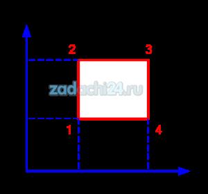 Один моль одноатомного идеального газа участвует в циклическом процессе, график которого, состоящий из двух изохор и двух изобар, представлен на рисунке. Температуры в точках 1 и 3 равны T1 и T3. Известно, что точки 2 и 4 лежат на одной изотерме.  Определить работу, совершенную газом за цикл и КПД цикла.