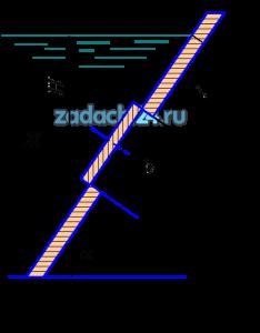 Определить силу давления жидкости Ж и точку ее приложения на круглую крышку люка диаметром d, закрывающую отверстие на наклонной плоской стенке с углом наклона α. Построить эпюру избыточного гидростатического давления на крышку люка.
