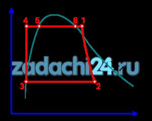 Расчет обратимого цикла паротурбинной установки Рассчитать обратимый цикл Ренкина (рис.4.1.2). Параметры пара на входе в турбину р1 (давление), t1 (температура) и давление пара на выходе из турбины p2 даны в табл.4.2.9 по вариантам. Определить параметры p (давления), t (температуры), h (энтальпии), s (энтропии), x (степени сухости) в узловых точках цикла с использованием таблиц свойств воды и водяного пара [6] и занести в табл.4.2.10. Рассчитать подводимую теплоту (q1), отводимую теплоту (q2), работу турбины (lT), работу насоса (lн), работу цикла (l), термический КПД цикла (ηt). Показать цикл Карно в p-υ и T-s - диаграммах для интервала давлений p1÷p2. Сравнить термический КПД цикла Ренкина (ηt) с термическим КПД цикла Карно (ηk).