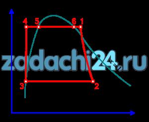 Расчет обратимого цикла паротурбинной установки Рассчитать обратимый цикл Ренкина (рис.2.4). Параметры пара на входе в турбину р1, t1 и давление пара на выходе из турбины p2 даны в табл.10 по вариантам. 1 Представить цикл в T-s и h-s - диаграммах 2 Привести схему установки и нанести узловые точки цикла на схему. Указать назначение каждого процесса (1-2, 2-3 и т.д.), его характер (адиабатный, изобарно - изотермический) и т.д. 3 Определить параметры p, t, h, s, x в узловых точках цикла с использованием таблиц [3] и занести в табл.11. 4 Рассчитать подводимую теплоту (q1), отводимую теплоту (q2), работу турбины (lT), работу насоса (lн), работу цикла (l), термический КПД цикла (ηt). 5 Показать цикл Карно в p-υ и T-s - диаграммах для интервала давлений p1÷p2. Сравнить термический КПД цикла Ренкина (ηt) с термическим КПД цикла Карно (ηtК). Ответить на вопросы: - почему нецелесообразно осуществление цикла Карно в паротурбинной установке? - как зависит термический КПД цикла Ренкина (ηt) от параметров пара на входе в турбину p1, t1 и от давления в конденсаторе p2?