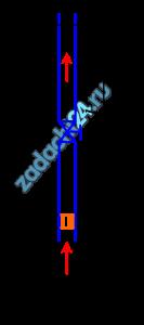 В вертикальной трубе диаметром d=50 мм вода движется под воздействием поршня, который поднимается вверх с ускорением а=4 м/c² (рис.5.14). Определить давление жидкости в сечении 2-2, отстоящем в данный момент на расстоянии l=5 м, если в этот момент расход Q=10 л/c, сила, действующая на поршень, R=0,5 кН, шероховатость стенок трубы Δ=0,2 мм, коэффициент сопротивления вентиля ξв=5. Считать, что закон сопротивления квадратичный.