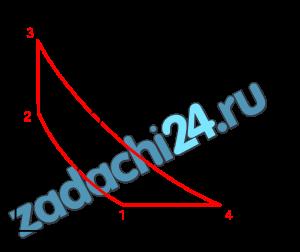 Для цикла, изображенного в координатах Требуется определить: а) параметры р, υ, t, s, u в характерных точках цикла; б) работу l, изменения: внутренней энергии Δu, энтальпии Δh, энтропии Δs рабочего тела во всех процессах цикла; в) теплоту q всех процессов цикла; г) термический КПД цикла и термический КПД цикла Карно, построенного в том же интервале температур. Полученные данные поместить в таблицы. Построить цикл в р-υ и T-s координатах.