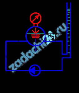 Насос работает на замкнутую систему /рис. 27/, состоящую из котла и соединяющих их трубопроводов, равной длины l и диаметром d. К середине правого вертикального участка подключен пьезометр, жидкость в котором устанавливается на высоте h. Давление в котле рк. Определить: 1/ направление циркуляции жидкости Ж в системе; 2/ подачу, напор и мощность насоса, приняв коэффициент сопротивления λ=0,025 и пренебрегая местными потерями; 3/ определить давление на входе и выходе из насоса. Построить пьезометрическую линию, приняв положение уровня жидкости в котле относительно оси трубы равным а.