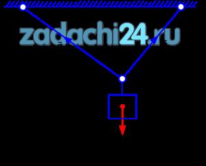 Определить усилия натяжения S1 и S2 в нитях AB и BC, к которым подвешен груз силой тяжести G (рис.5.1). Исходные данные приведены в табл.5.1.