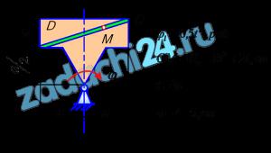 СЛОЖНОЕ ДВИЖЕНИЕ ТОЧКИ  По заданным уравнением относительного движения точки М неровного движения тела Д определить для момента времени t=t1 абсолютную скорость и абсолютное ускорение точки M.