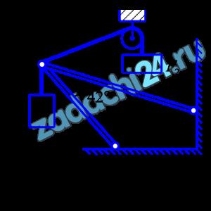 Определить реакции стержней АВ и СВ, удерживающих грузы F1 и F2. Массой стержней можно пренебречь (рис.7.1). Данные для расчета по схеме приведены в табл.7.1.