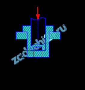 Для одного из соединений, показанных на рис.3.7, из расчетов на прочность (при растяжении, сжатии, срезе, смятии и кручении) найти указанные на чертеже размеры. Исходные данные взять из табл.3.3. Принять: материал - сталь; [σр]= [σс]=100 МПа; [τкр]=50 МПа; [τср]=0,8[σр]; [σсм]=2,0[σр].