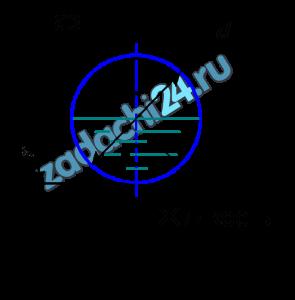 Жидкость движется в безнапорном трубопроводе (рис. 7.9) с расходом Q=22 м³/ч. Трубопровод заполнен наполовину сечения. Диаметр трубопровода d=80 мм. Определить, при какой температуре будет происходить смена режимов движения жидкости. График зависимости кинематического коэффициента вязкости жидкости от температуры показан на рис. 7.5.