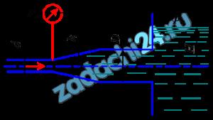 Определить расход жидкости, вытекающей из трубы диаметром d=16 мм через плавное расширение (диффузор) и далее по трубе диаметром D=20 мм в бак. Коэффициент сопротивления диффузора ζ=0,2 (отнесен к скорости в трубе), показание манометра рм=20 кПа; высота h=0,5 м; Н=5 м; плотность жидкости ρ=1000 кг/м³. Учесть потери на внезапное расширение, потерями на трение пренебречь, режим течения считать турбулентным.