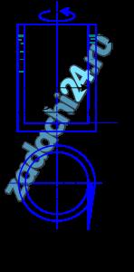 Кольцевая щель между двумя цилиндрами диаметрами d=202 мм и D=210 мм залита трансформаторным маслом (ρм=910 кг/м³) при температуре t=20 ºC (рис. 1.5). Динамический коэффициент вязкости масла μ=0,0266 Па·с. Момент, приложенный к внутреннему цилиндру, М=0,065 Н·м, а высота столба жидкости в щели между цилиндрами 120 мм. Определить частоту вращения внутреннего цилиндра. Трением основания внутреннего цилиндра пренебречь.