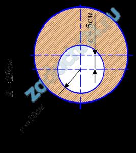 Определить положение главных центральных осей и вычислить главные центральные моменты инерции сечения (рис. 1).