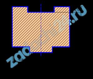 Определить координаты центра тяжести плоских однородных фигур, имеющих ось симметрии, изображенных на схемах 1-30 таблица 4. Числовые данные взять из таблицы 3.